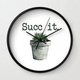 Succ it. Wall Clock