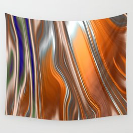 Monochrom Golden Age Splash Abstract Wall Tapestry