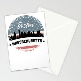 My City, My Home BOSTON / MASSACHUSETTS Stationery Cards