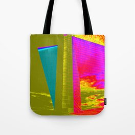Architectonic in colors Tote Bag