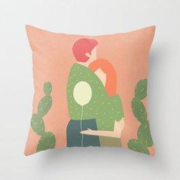 amori e spine Throw Pillow