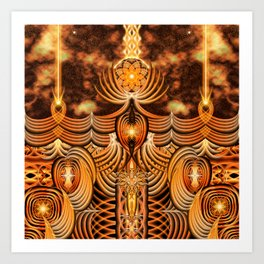 The Nexus Temple Art Print