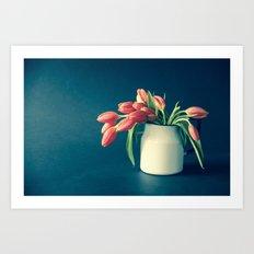Thinking of You - Sending Tulips Art Print
