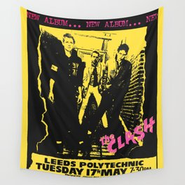 Live 1977 at Leeds Polytechnic. Wall Tapestry