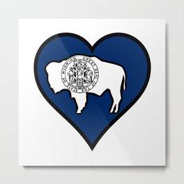 Love Wyoming Metal Print