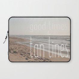 Good Times & Tan Lines Laptop Sleeve