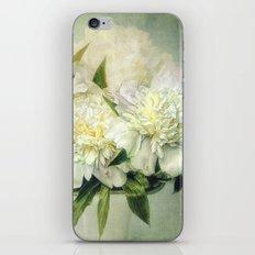 white and green iPhone & iPod Skin