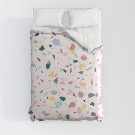 Colorful Terrazzo Comforters