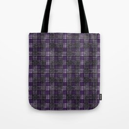 Classical cell in purple tones. Tote Bag