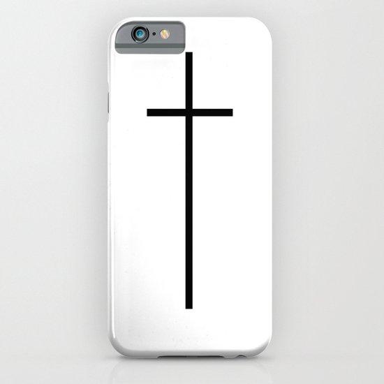 CROSSES (WHITE) iPhone & iPod Case