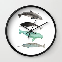 Too cute to be true Wall Clock