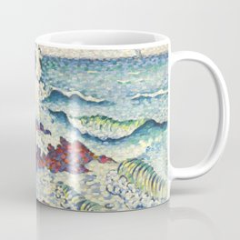 "Henri-Edmond Cross ""Méditerranée par vent d'est"" Coffee Mug"