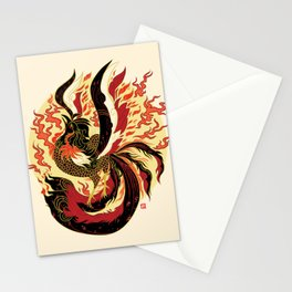 Year of the Fire Rooster Stationery Cards