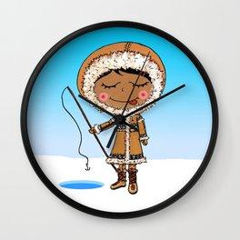 Inuit Wall Clock