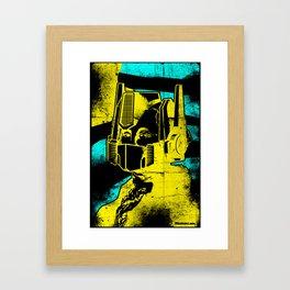 Transident Washington Framed Art Print