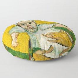 Vincent van Gogh - Madame Roulin and Her Baby Floor Pillow