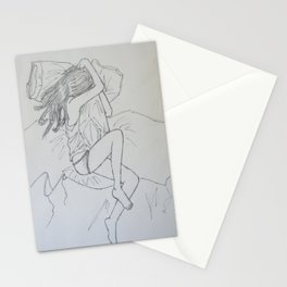 But it's Hard to Get Through the Night Stationery Cards
