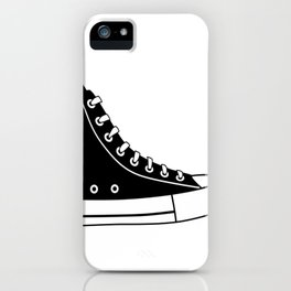 Religious Walk By Faith Sneaker iPhone Case