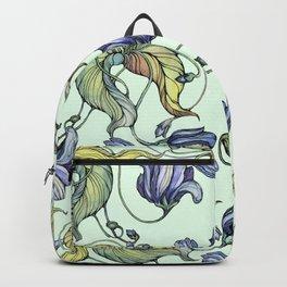 Vintage watercolor patterns Backpack