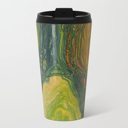 The Excavation of a Luminous Chamber (Enchanted Chemical Abyss) Travel Mug