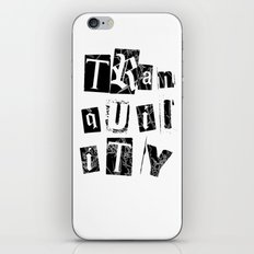 Tranquility iPhone & iPod Skin