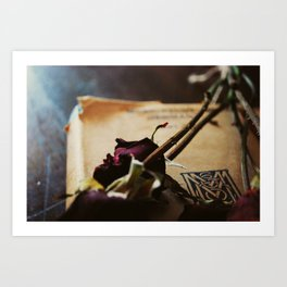 All Roses Have Thornes Art Print