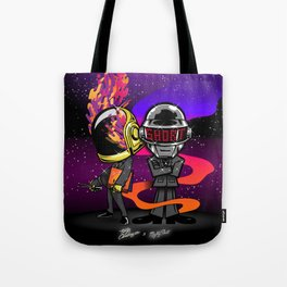 Daft Punk homage Tote Bag