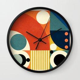 Roud Flow No. 3 Wall Clock