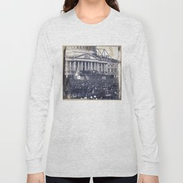 Inauguration of Pesident Abraham Lincoln (March 4, 1861) Long Sleeve T-shirt