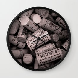 Bunch of Corks Wall Clock