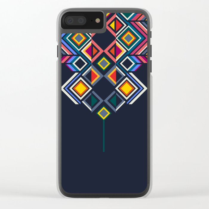 TINDA 3 Clear iPhone Case