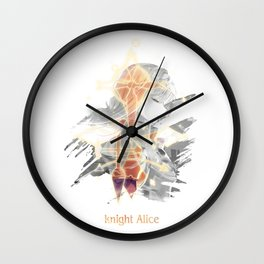Knight Alice Sword Art Online: Alicization Wall Clock