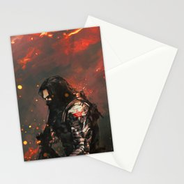 Blood in the Breeze Stationery Cards