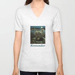 Komondor Unisex V-Neck