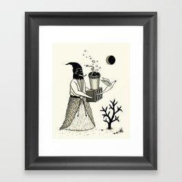 Harbinger of Anxiety Framed Art Print