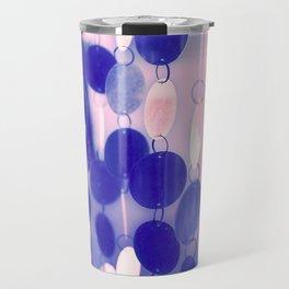 GLAM CIRCLES #Soft Pink/Blue #1 Travel Mug