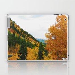 Firey Fall Laptop & iPad Skin