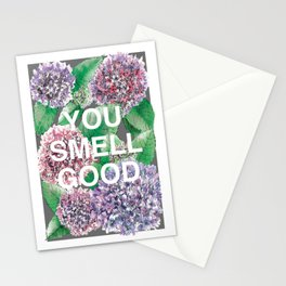 You Smell Good Stationery Cards
