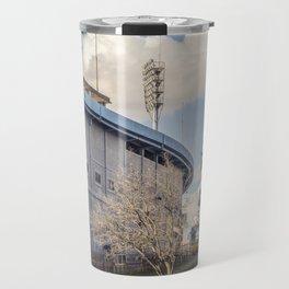 Centenario Stadium Facade, Montevideo - Uruguay Travel Mug