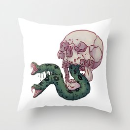Venimeux Throw Pillow