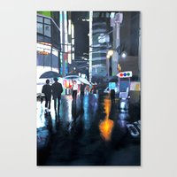 seoul Canvas Prints featuring Seoul by emily s.m.