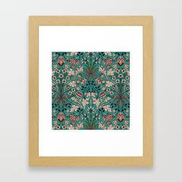 "William Morris ""Hyacinth"" 1. Framed Art Print"