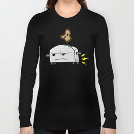 Shifty Toaster & Skull Toast Long Sleeve T-shirt
