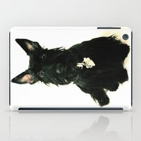chelsea iPad Cases featuring Chelsea by Zayda Barros