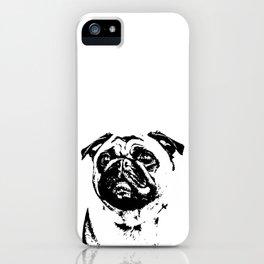 Pug-o-holic iPhone Case