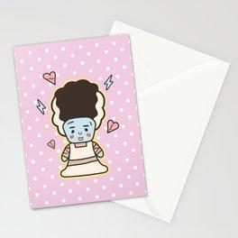Kawaii Little Bride of Frankenstein Stationery Cards
