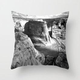 Vintage Landscape : Canyon de Chelly National Monument, Arizona Throw Pillow