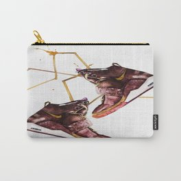 Burgundy sneakers Carry-All Pouch