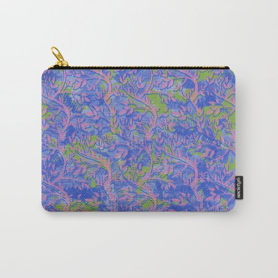 Shoots, Stems and Leaves abstract Carry-All Pouch