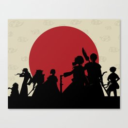 Yona of the Dawn Minimalist Canvas Print